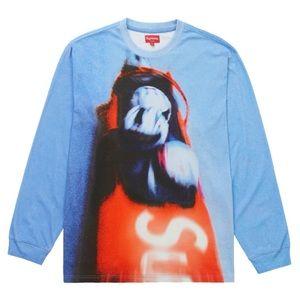 Supreme Bobsled Long Sleeve Top Blue 💙